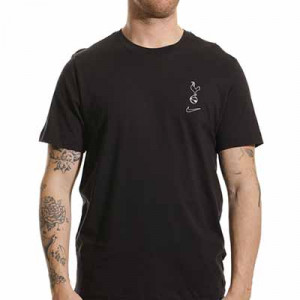 Camiseta Nike Tottenham Voice - Camiseta de manga corta de algodón Nike del Tottenham Hotspur FC - negra