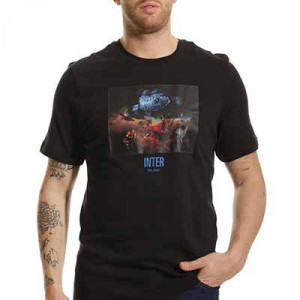 Camiseta Nike Inter Voice - Camiseta de algodón Nike del Inter de Milán - negra