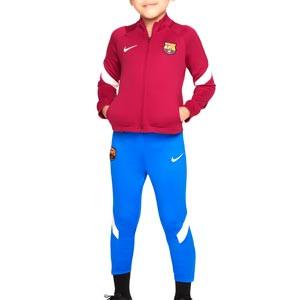 Chándal Nike Barcelona niño 3 - 8 años Dri-Fit Strike - Chándal infantil de 3 a 8 años Nike del FC Barcelona - azulgrana