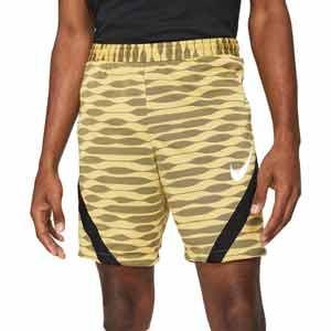 Short Nike Dri-Fit Strike 21 - Pantalón corto de entrenamiento de fútbol Nike - dorado - frontal
