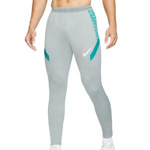 Pantalón Nike Dri-Fit Strike 21 - Pantalón largo de entrenamiento de fútbol Nike - gris - frontal