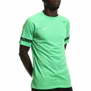 Camiseta Nike Dri-Fit Academy 21 - Camiseta de manga corta de entrenamiento de fútbol Nike - verde