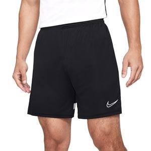 Short Nike Dri-Fit Academy 21 - Pantalón corto de entrenamiento de fútbol Nike - negro - frontal