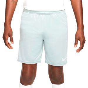 Short Nike Dri-Fit Academy 21 - Pantalón corto de entrenamiento de fútbol Nike - gris - frontal