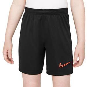Pantalón Nike Dri-Fit Academy 21 niño - Pantalón corto de entrenamiento de fútbol Nike niño - negro