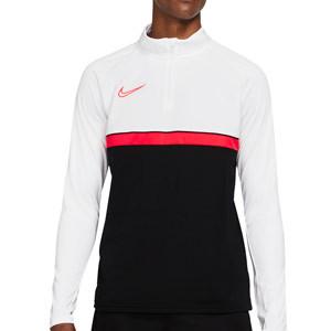 Sudadera Nike Dri-Fit Academy 21 - Sudadera de entrenamiento de fútbol Nike - negra, blanca