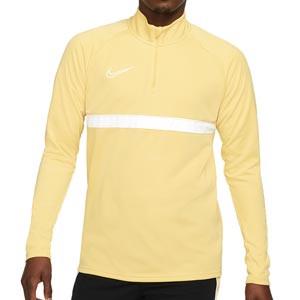 Sudadera Nike Dri-Fit Academy 21 - Sudadera de entrenamiento de fútbol Nike - dorada - frontal