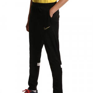 Pantalón Nike Dri-Fit Academy 21 niño - Pantalón largo infantil para entrenamiento de fútbol Nike - negro - completa frontal