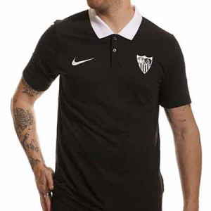 Polo Nike Sevilla paseo - Polo de paseo Nike del Sevilla FC - negro