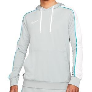 Sudadera Nike Dry Academy Hoodie Joga Bonito - Sudadera con capucha de calle Nike de la colección Joga Bonito - gris - frontal