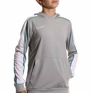 Sudadera Nike Academy niño Hoodie Joga Bonito - Sudadera con capucha Nike para niño - gris - frontal