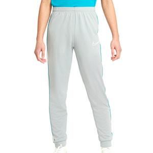 Pantalón Nike Dri-Fit Academy niño Joga Bonito - Pantalón largo infantil Nike de la colección Joga Bonito - gris - frontal