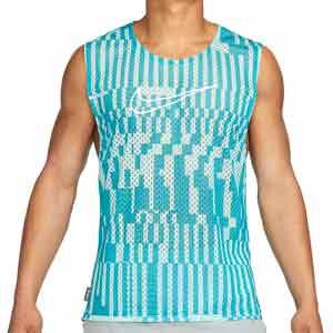 Peto Nike Academy - Peto entrenamiento Nike colección Joga Bonito - azul celeste - frontal