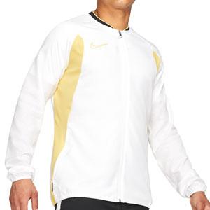 Cortavientos Nike Dry Academy All Weather Fan - Chaqueta cortavientos de fútbol Nike - blanco - frontal