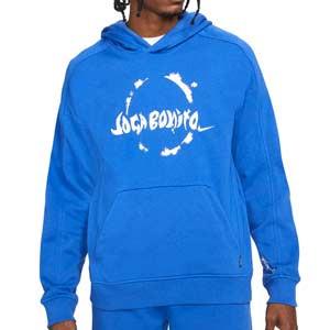 Sudadera Nike FC Hoodie - Sudadera con capucha Nike de la colección Joga Bonito - azul - frontal