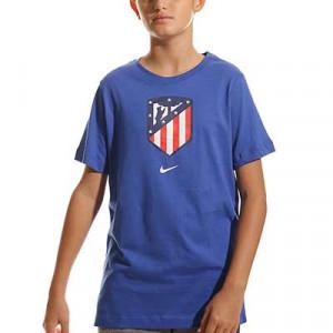 Camiseta algodón Nike Atlético Evergreen Crest niño