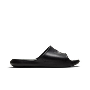Chanclas Nike mujer Victori One - Chancletas de baño para mujer Nike - blancas - pie derecho