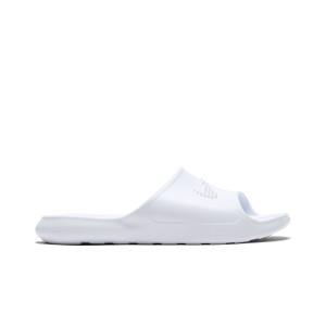 Chanclas Nike mujer Victori One - Chancletas de baño para mujer Nike - blancas - derecho