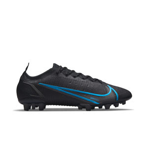 Nike Mercurial Vapor 14 Elite AG - Botas de fútbol Nike AG para césped artificial - negras