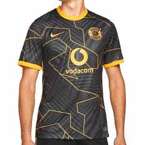 Camiseta Nike 2a Kaizer Chiefs 2021 2022 Stadium - Camiseta segunda equipación Nike Kaizer Chiefs 2021 2022 - negra