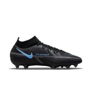 Nike Phantom GT2 Elite DF FG - Botas de fútbol con tobillera Nike FG para césped natural o artificial de última generación - negras