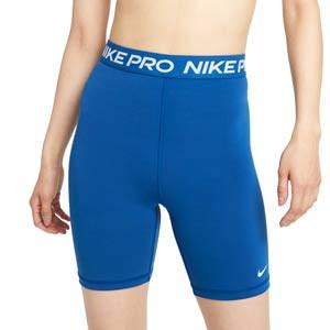 Mallas Nike Pro 365 mujer 18 cm - Mallas cortas de mujer Nike para fútbol - azules