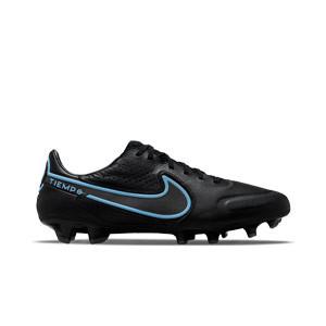 Nike Tiempo Legend 9 Pro FG - Botas de fútbol de piel Nike FG para césped natural o artificial de última generación - negras