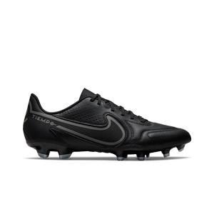 Nike Tiempo Legend 9 Club FG/MG - Botas de fútbol Nike FG/MG para césped artificial - negras