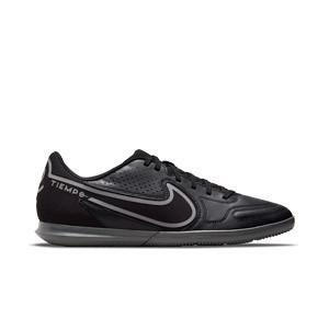 Nike Tiempo Legend 9 Club IC - Zapatillas de fútbol sala Nike suela lisa IC - negras
