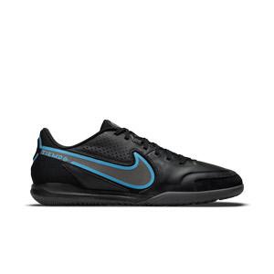 Nike Tiempo Legend 9 Academy IC - Zapatillas de fútbol sala de piel Nike suela lisa IC - negras