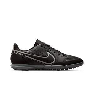 Nike Tiempo Legend 9 Club TF - Zapatillas de fútbol multitaco Nike suela turf - negras