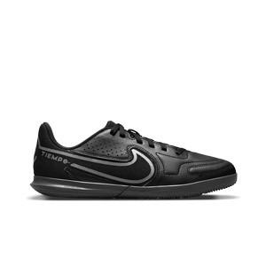 Nike Tiempo Jr Legend 9 Club IC - Zapatillas de fútbol sala infantiles Nike suela lisa IC - negras