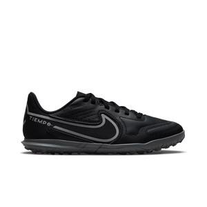 Nike Tiempo Jr Legend 9 Club TF - Zapatillas de fútbol multitaco infantiles Nike suela turf - negras