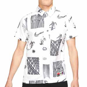 Camisa Nike FC Dri-Fit Whitespace - Camisa Nike FC de la colección Joga Bonito - blanca - frontal