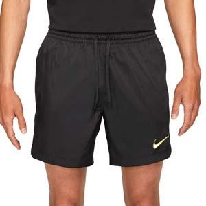 Short Nike FC Woven - Pantalón corto de entrenamiento Nike FC - negro - frontal