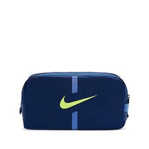Zapatillero Nike Academy - Porta botas de fútbol Nike - azul