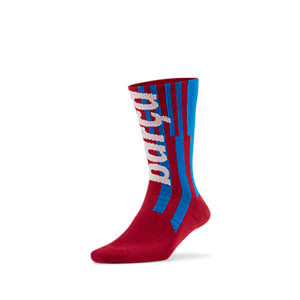Calcetines Nike Barcelona Sneaker - Calcetines media caña Nike FC Barcelona - azulgranas