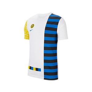 Camiseta algodón Nike Inter Ignite Salone - Camiseta de algodón Nike del Inter de Milán - blanca - frontal