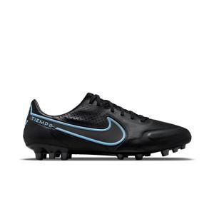 Nike Tiempo Legend 9 Pro AG-PRO - Botas de fútbol de piel Nike AG-PRO para césped artificial - negras