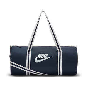 Bolsa deporte Nike Heritage Duffel mediana - Bolsa entrenamiento fútbol Nike (53 x 26 x 26) cm - azul marino