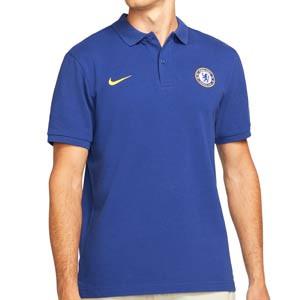 Polo Nike Chelsea Sportswear Crew - Polo de algodón Nike del Chelsea FC - azul