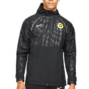 Chubasquero Nike Chelsea All Weather Fan - Chubasquero Nike del Chelsea FC - negro