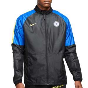 Chubasquero Nike Chelsea Dri-Fit Repel Academy - Chaqueta impermeable Nike del Chelsea FC - negro, azul