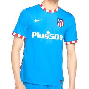 Camiseta Nike 3a Atlético 2021 2022 Dri-Fit Stadium - Camiseta tercera equipación Nike del Atlético de Madrid 2021 2022 - azul