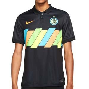 Camiseta Nike 3a Inter 2021 2022 Dri-Fit Stadium - Camiseta tercera equipación Nike del Inter de Milán 2021 2022 - negra