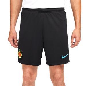 Short Nike 3a Inter 2021 2022 Dri-Fit Stadium - Pantalón corto tercera equipación Nike del Inter de Milán 2021 2022 - negra