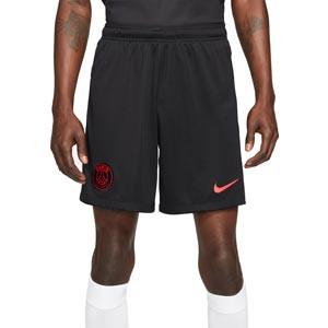 Short Nike 3a PSG 2021 2022 Dri-Fit Stadium - Pantalón corto de la tercera equipación Nike del París Saint-Germain 2021 2022 - negro