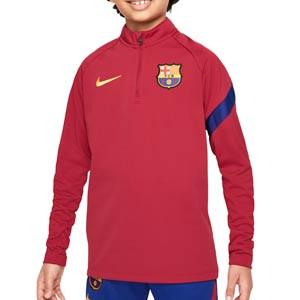 Sudadera Nike Barcelona entrenamiento niño Academy Pro