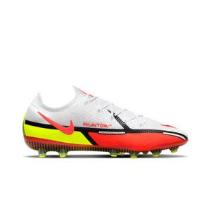 Nike Phantom GT2 Elite AG-PRO - Botas de fútbol Nike AG-PRO para césped artificial - blancas, rojas