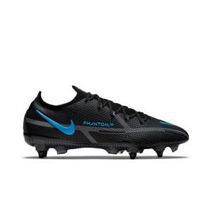 Nike Phantom GT2 Elite SG-PRO AC - Botas de fútbol Nike SG con tacos de alúminio para césped natural blando - negras
